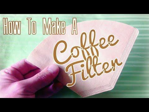 DIY Coffee Filter using a Paper Towel - Lifehack