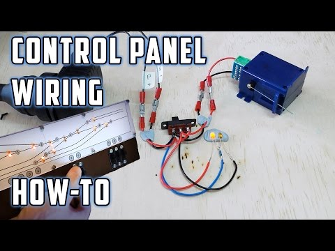Control Panel Wiring (with LED's) - How To - Model Railroads