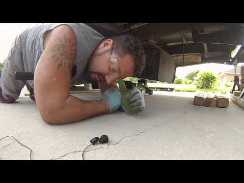 Crazy Dirty RV Gas Tank Changing Day