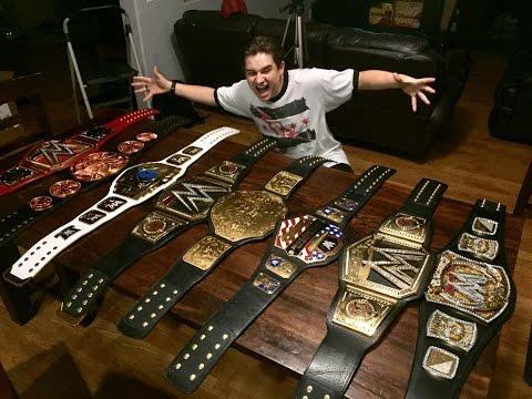 WWE CHAMPIONSHIP SPINNER TITLE BELT UNBOXING!