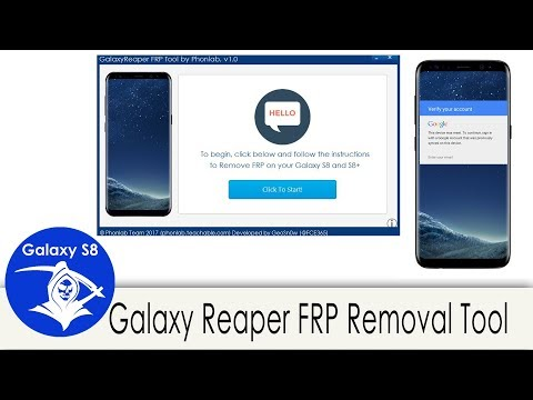 Phonlab GalaxyReaper FRP removal Tool for the S8 and S8+