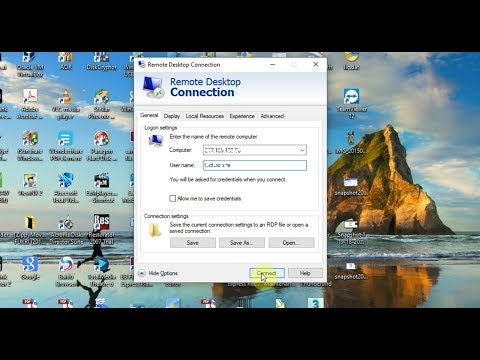 How to Access Windows Remote Desktop Over the Internet from PC and Cell Phone