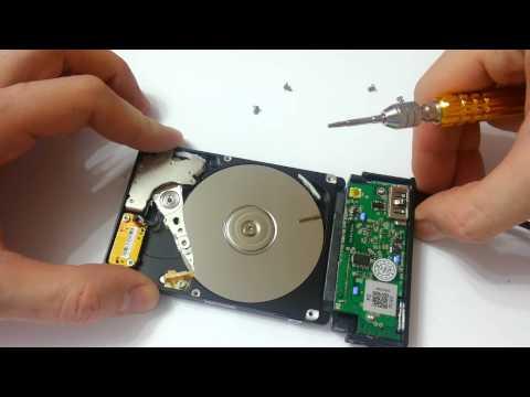 Laptop's hard drive disassembly. Samsung HM641JI.