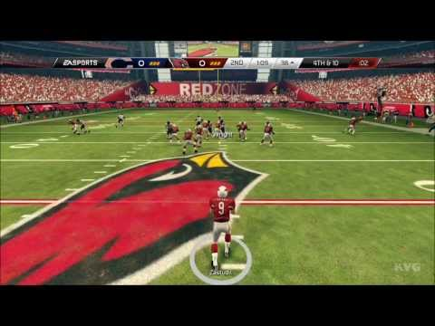 Madden NFL 25 - Arizona Cardinals vs. Chicago Bears Gameplay [HD]