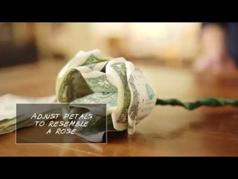 How to Make Flowers out of Dollar Bills