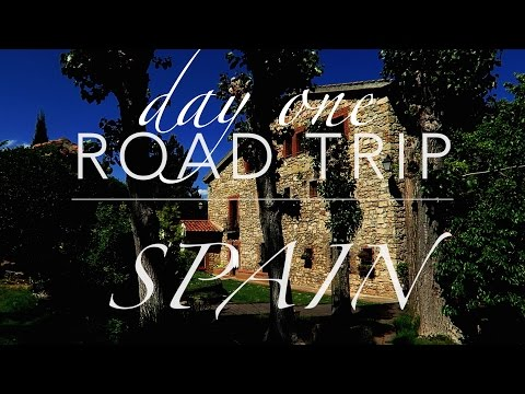 Road Trip Spain. Day one. UK to Calais, France