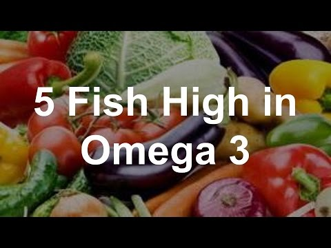 5 Fish High in Omega 3