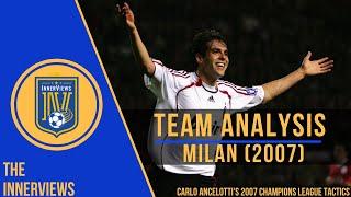 Ancelotti's AC Milan 2006/2007 Tactics Explained   How Milan Conquered Europe   Tactical Analysis