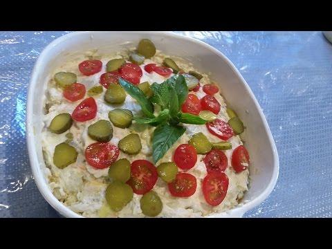 Persian Chicken Potato Salad Oliveh/Olivier