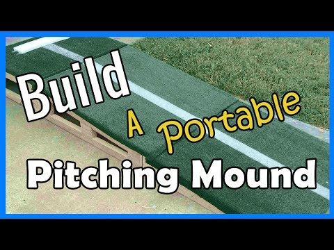 How To Build a Pitching Mound | ERIKTV365