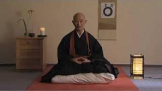 Zen - Posture - Introduction to zen practice part 2/1 -Taigen Shodo Harada Roshi