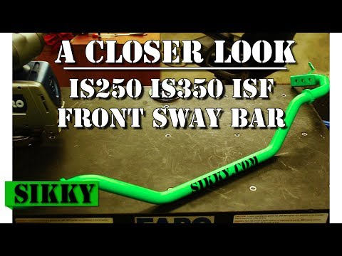 Lexus IS350 / IS250 Front Sway Bar - SIKKY Adjustable Sway Bar