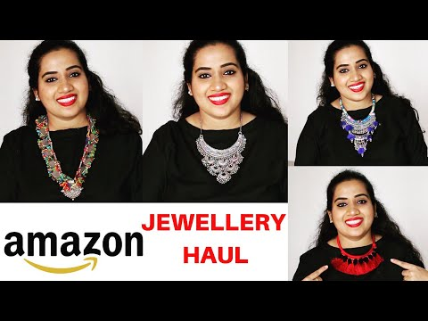AMAZON JEWELLERY HAUL +  How To Store Jewellery | Amazon Shopping Review