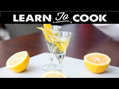 Learn To Cook: 3 Hour Sous-Vide Limoncello