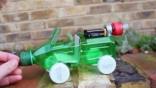 كيف تصنع سيارة كهربائية بسيطة - إبتكارات منزلية...Youtube