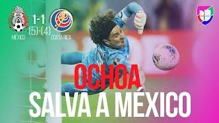 ¡México a Semifinales! La tanda de penales con la que el Tri venció 5-4 a Costa Rica