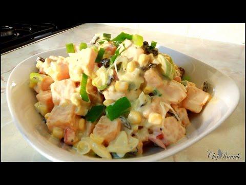 Jamaican Sweet Potato Salad Recipes | Recipes By Chef Ricardo