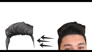 #x202b;طريقة رسم الشعر فيكتور ارت بشكل احترافي#x202c;lrm;