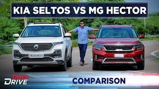 MG Hector vs Kia Seltos | Comparison | Times Drive