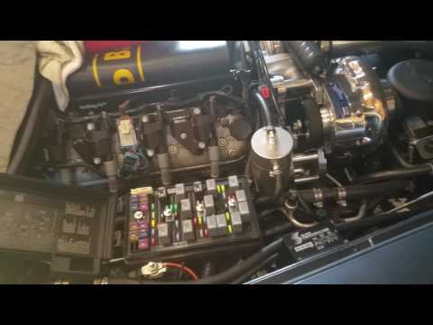 Removing old fuel/gas in prep for dyno. Boosted C6 Corvette Build. Part 53