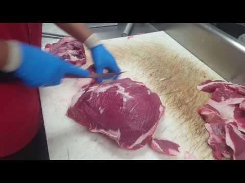 how to cut sirloin steak