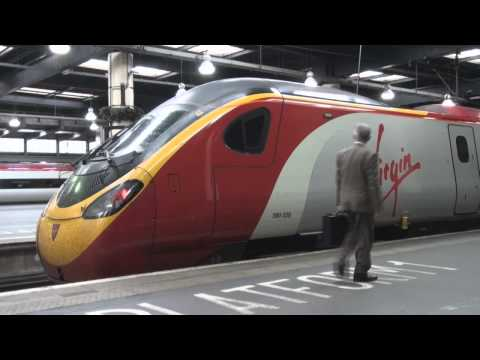 London Euston to Manchester Piccadilly