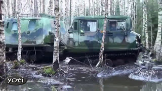 Extreme off-road vehicles of Siberia (Prt 1)