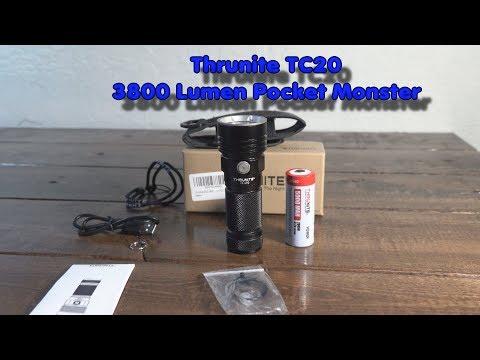 The Thrunite TC20 3800 Lumen Flashlight
