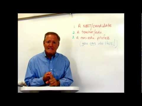 Preparing for NBPTS certification, Jerry Parks (Teaching #1): Introduction & Getting Ready!