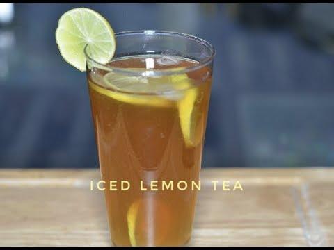 Iced Lemon Tea | Lemon Tea Recipe In Hindi | Homemade Iced Tea Recipe -  Reena KI Rasoi