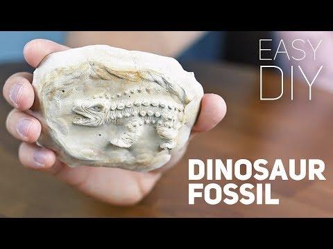 DIY Dinosaur Fossil