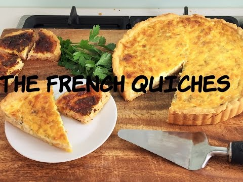 Leeks and Onion Quiche - French Vegetarian Recipe