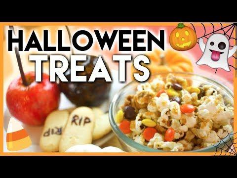 Easy DIY Halloween Treats