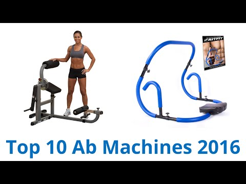 10 Best Ab Machines 2016