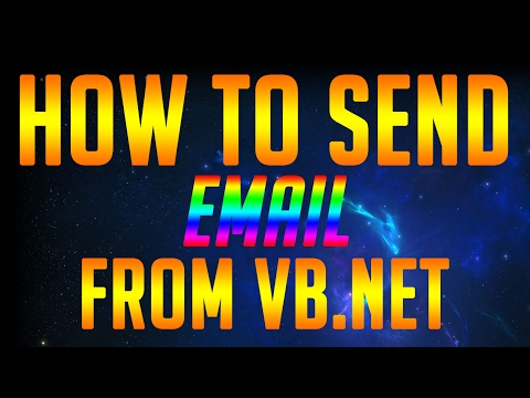 How To Send Email From VB.NET - Using Google Account
