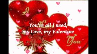 MY VALENTINE . . .  Martina Mcbride and Jim Brickman ( with Lyrics )