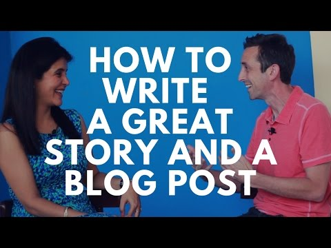 How to Write a Great Short Story & A Good Blog Post - Quick and Easy Writing Tips | #ChetChat