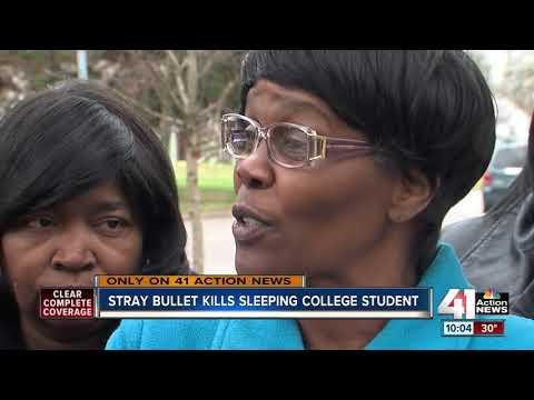Sleeping woman shot, killed by stray bullet