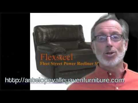 Aven's has Flexsteel Power Recline...Yes it's fast...