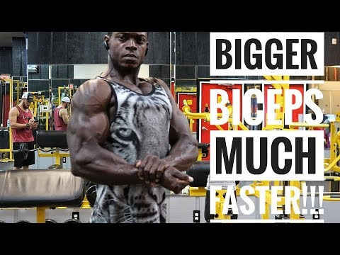 Get Bigger Biceps Much Faster!!! (Complete Workout With Great Tips)