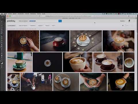 Montaje fotográfico: Arte latte con Photoshop