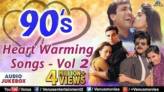 90's Heart Warming Songs - Vol.2 : Most Romantic Songs Of Bollywood | JUKEBOX | Hindi Love Songs