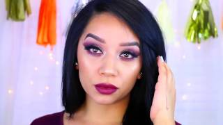 Holiday Makeup tips | Plum Eye Makeup | wonderful eye makeup tips | about beauty |