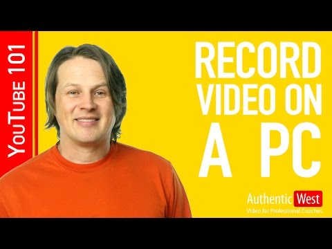 How to record your first YouTube video with a PC