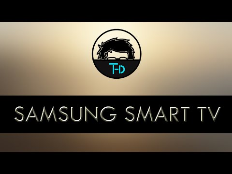Playing a video file in Samsung Smart TV