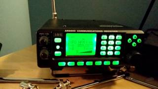 Receving Volmet stations with AOR AR 5000 receiver/scanner - PakVim
