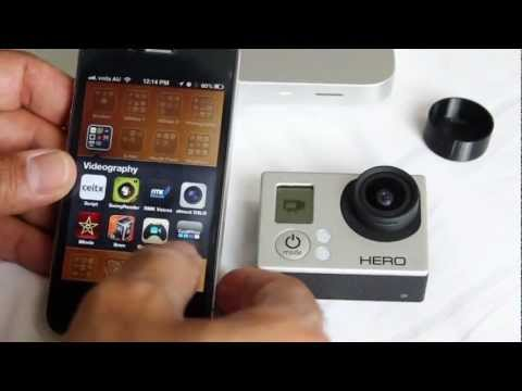 GoPro Hero3 WiFi Connectivity with iPhone and Android Google Nexus - Setup