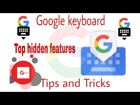 Google Keyboard | Gboard | Tricks and features | Hindi