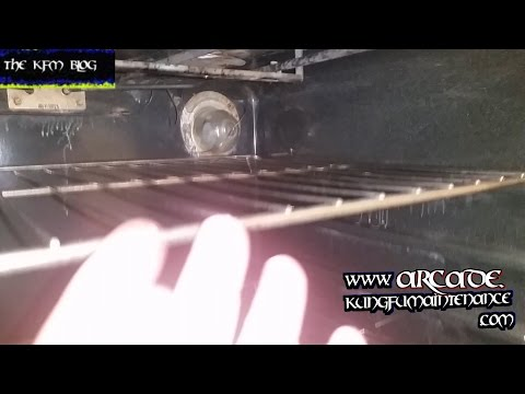 Replacing Broken Off Oven Bulb Stuck In Stove Light Socket Change Out Maintenance Repair Video