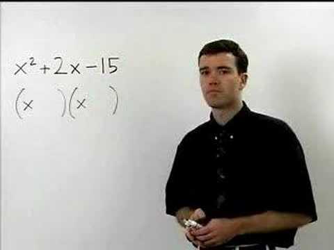 Factoring Trinomials - MathHelp.com - Algebra Help